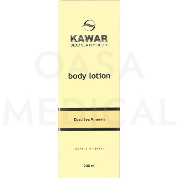 KAWAR Tělové mléko s minerály z Mrtvého moře 200ml