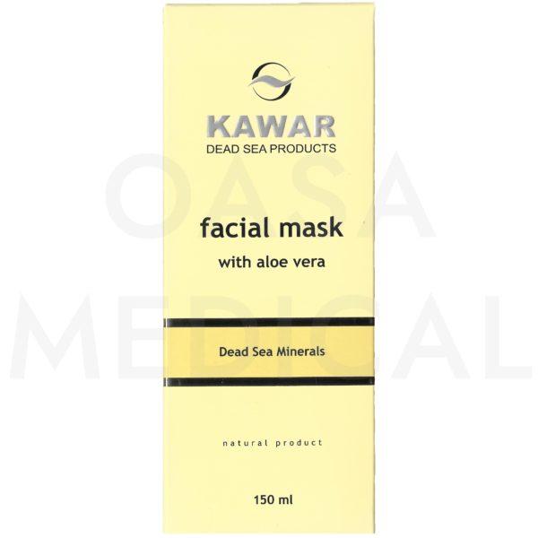 KAWAR Pleťová maska s minerály z Mrtvého moře 150ml