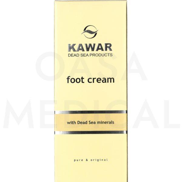 KAWAR Krém na nohy s minerály z Mrtvého moře 150ml