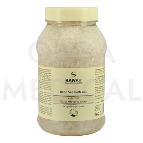 KAWAR Koupelová sůl z Mrtvého moře 1000g